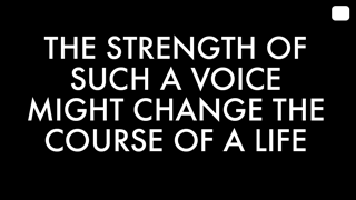 Change the Course of a Life